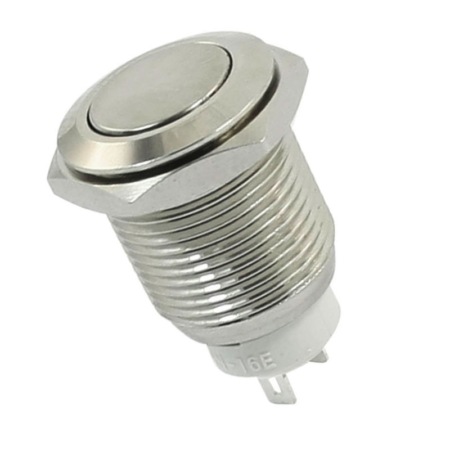 12mm Metal Latching Switch