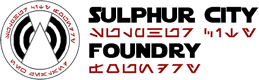Suplhur City Foundry Logo